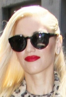 Look of the Day: Gwen Stefani's Wild Blumarine Pantsuit