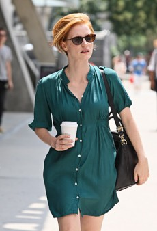 How Cool is Jessica Chastain's Short Hair?! (Forum Buzz)