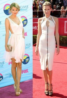 Celebrity Style Guide: Little White Dresses