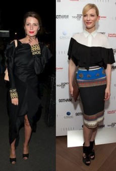 Style Showdown: Cate Blanchett and Mischa Barton Set Sleeves (and Hearts) Aflutter