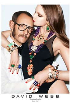 Terry Richardson Steps in Front of the Camera for David Webb's Fall 2012 Campaign (Forum Buzz)