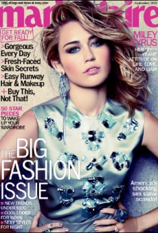 Miley Cyrus Makes Marie Claire's September Cover (Forum Buzz)