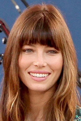 Jessica Biel taping Good Morning America in Central Park New York City cropped