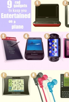 9 Mile-High Gadgets to Beat In-Flight Boredom