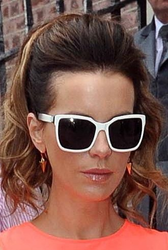 Kate Beckinsale departing the Merrion Hotel Dublin cropped