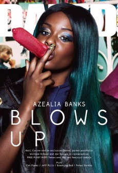 "Azealia Banks ""Smokes"" an Inflated Condom on the Cover of Dazed & Confused (Forum Buzz)"