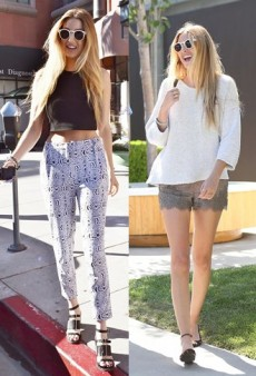 Get Whitney Port's Girly Grunge Style
