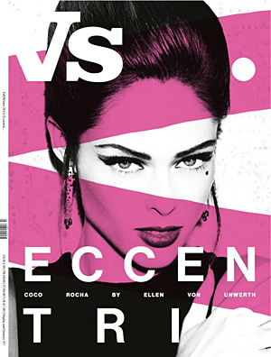 Vs. Sept 2012 - Coco Rocha by Ellen von Unwerth