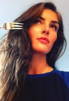 Hilary Rhoda Channels The Little Mermaid and Other Celeb Twitpics of the Week