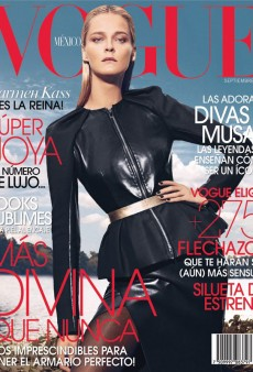 Carmen Kass Brings Vogue Mexico's September Issue to Another Level (Forum Buzz)