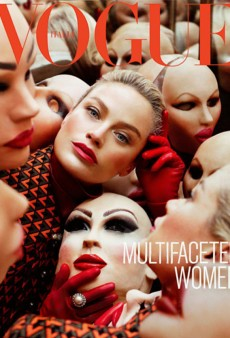 Carolyn Murphy as a Multifaceted Woman for Vogue Italia (Forum Buzz)