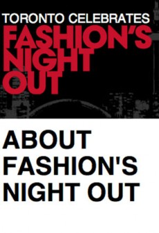 Fashion's Night Out on the Tiles In Toronto