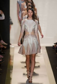 Herve Leger Spring 2013 Runway Review