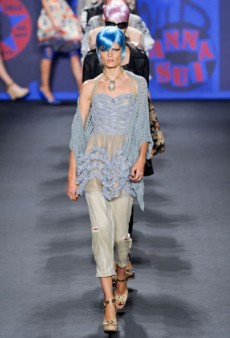 Anna Sui Spring 2013 Runway Review