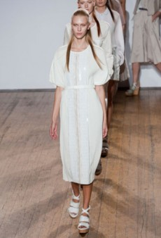 Nicole Farhi Red Label Spring 2013 Runway Review