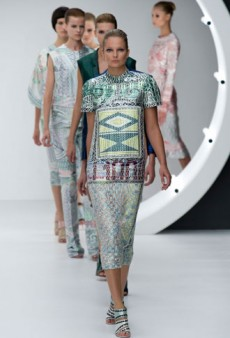 Mary Katrantzou Spring 2013 Runway Review