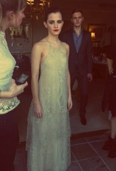 Ethereal Emma Watson and Other Celeb Twitpics of the Week