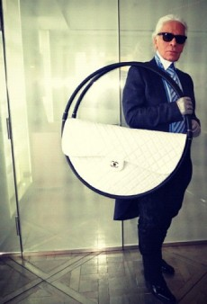 You Will Probably Never Create Anything as Meaningful as Karl Lagerfeld's Chanel Hula Hoop Beach Bag