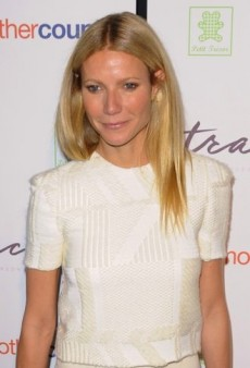 Look of the Day: Gwyneth Paltrow Adds Some Color to Her Wes Gordon Top and Misha Nonoo Skirt