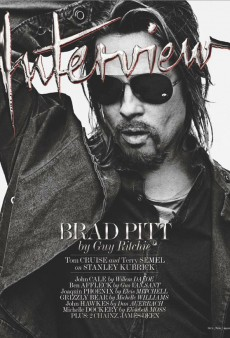 Brad Pitt Covers Interview's October/November Issue (Forum Buzz)