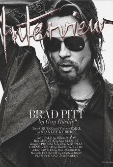 Brad Pitt Covers Interview's October/November Issue (Forum Buzz)