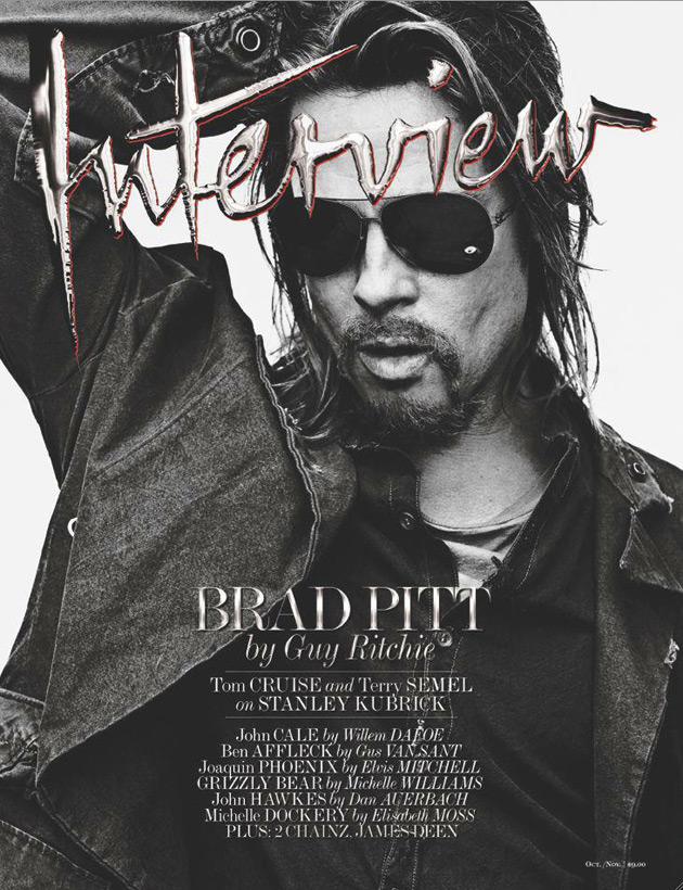 Brad Pitt - Interview October/November 2012 - Photographed by Steven Klein