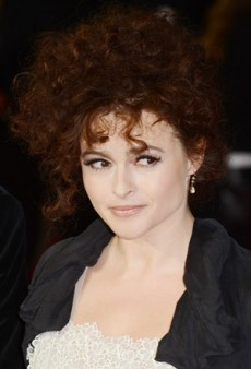 Go Nude With Helena Bonham-Carter's Fresh Evening Look