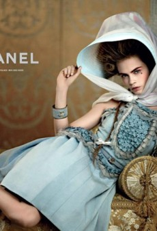 Cara Delevingne and Saskia de Brauw Star in Chanel's Opulent Cruise 2013 Campaign (Forum Buzz)