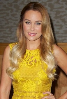 Look of the Day: Lauren Conrad Brightens Up Barnes & Noble in Yellow Yoana Baraschi Dress