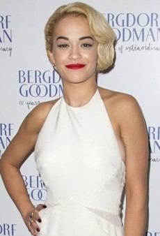 Look of the Day: Rita Ora Goes Glam in Cream Colored Emilio Pucci Gown