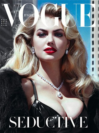 Vogue Italia November 2012 - Kate Upton photographed by Steven Meisel