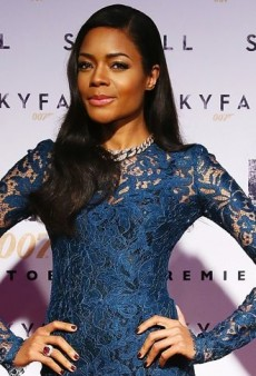 Look of the Day: Naomie Harris Laces Up in Dolce & Gabbana