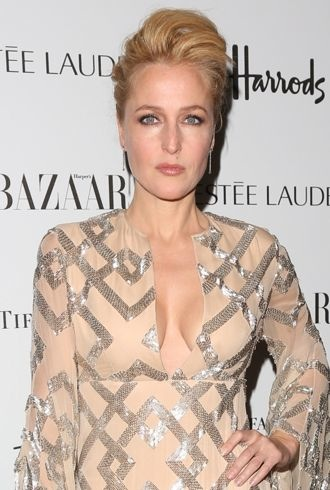 Gillian Anderson Harpers Bazaar Women of the Year 2012 London cropped