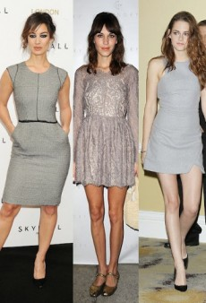 15 Shades of Gray: Berenice Marlohe, Alexa Chung, Kristen Stewart and Other Stars in LGDs
