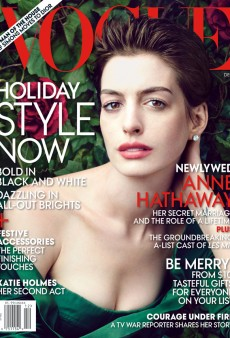 Anne Hathaway is All Over Vogue's December Issue (Forum Buzz)