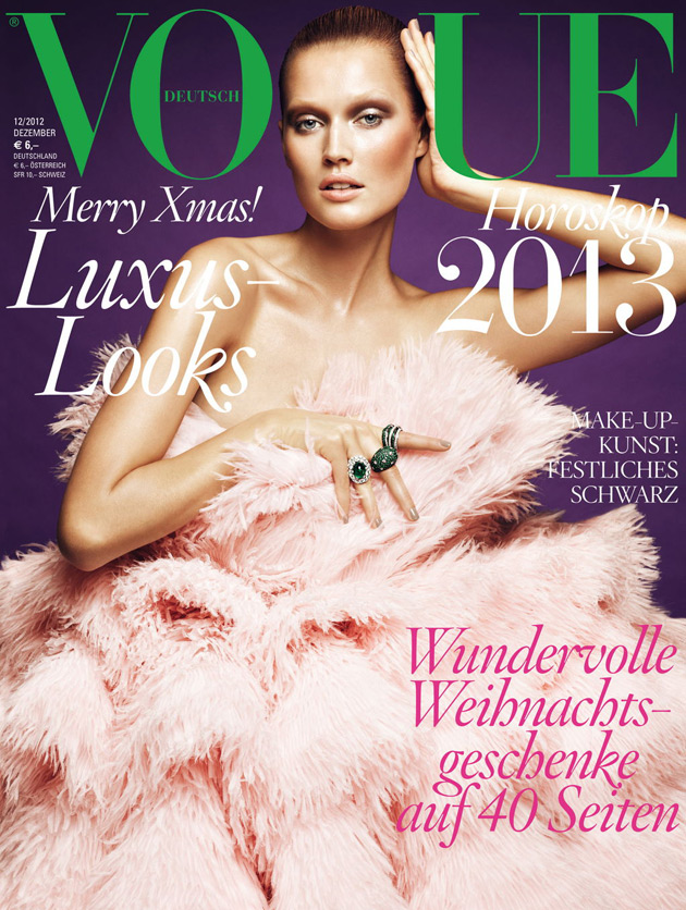 Vogue Germany Dec 2012 - Toni Garrn
