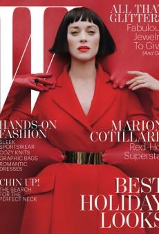 Marion Cotillard is W's 'Red-Hot Superstar' this December (Forum Buzz)