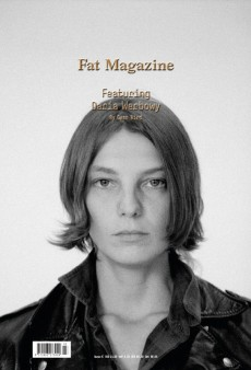 Daria Werbowy Looks Like a Dude on the Cover of Fat Magazine (Forum Buzz)