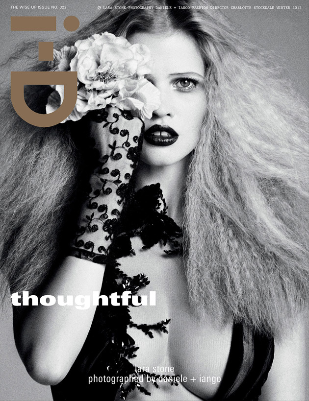i-D Issue No 322 - Lara Stone photographed by Daniele & Iango