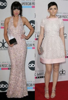 Style Showdown: Ginnifer Goodwin and Carly Rae Jepsen Get Girly in Pink Sparkles and More