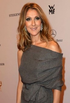 Look of the Day: Celine Dion Resonates on the Red Carpet in J. Mendel