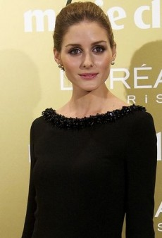 Look of the Day: Olivia Palermo's Strategically Embellished Black Christian Dior Gown