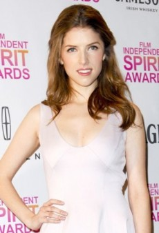 Look of the Day: Anna Kendrick Looks Pretty in Pink Halston Heritage Dress