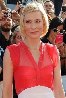 Look of the Day: Cate Blanchett Premieres The Hobbit in Antonio Berardi
