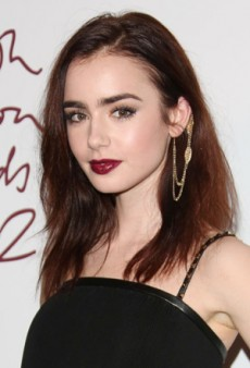 Go Modern Grunge with Lily Collins' Flawless Beauty Look