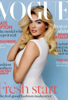 Kate Upton on the Cover of Vogue UK