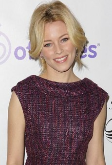 Look of the Day: Elizabeth Banks Raises Awareness in Tweed Trina Turk Dress