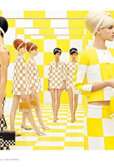 Louis Vuitton Sticks With the Checkerboard Motif for their Spring 2013 Campaign (Forum Buzz)