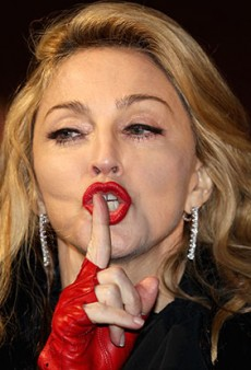 Madonna So Mad People Dared to Smoke in Her Presence