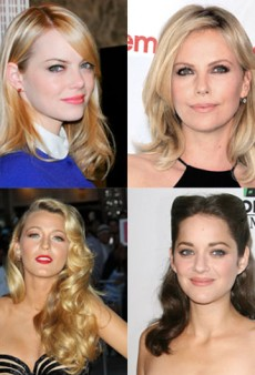 12 Red Carpet Beauty Stars of 2012